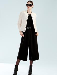 例格女士短款单排扣羽绒服