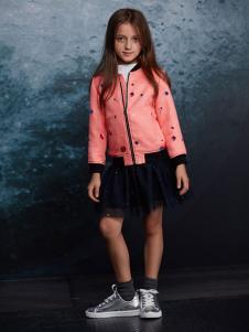 ABC KIDS童装2016新品女童休闲外套