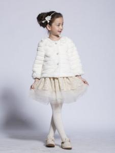 BenKo缤果童装毛绒外套