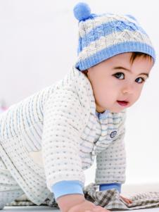 皇后婴儿秋冬新款纯棉套装