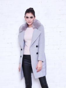 艾诺绮秋冬优质毛呢大衣