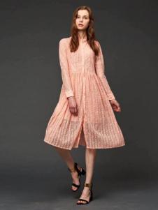 初次印象女装2016新品连衣裙