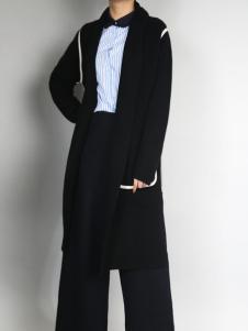 零时尚经典黑色外套