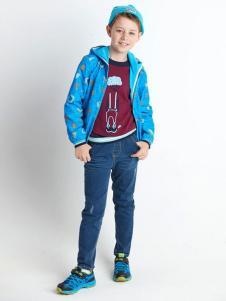 ABC KIDS童装2016新品男童连帽外套