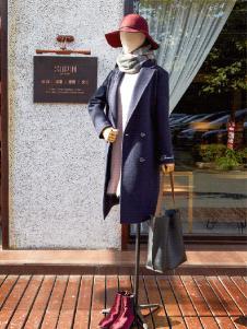 速品冬季修身长款大衣正品