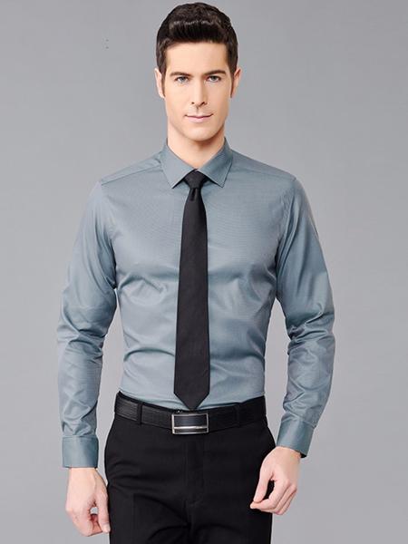 一折街男装品牌折扣新款衬衫