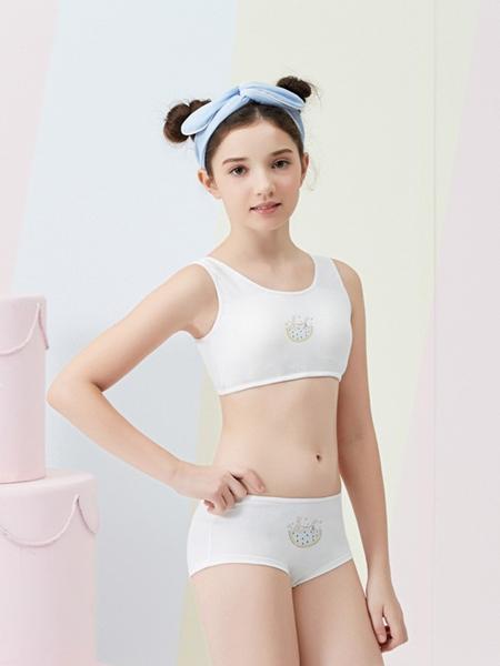 柔淇时尚白色内衣新款