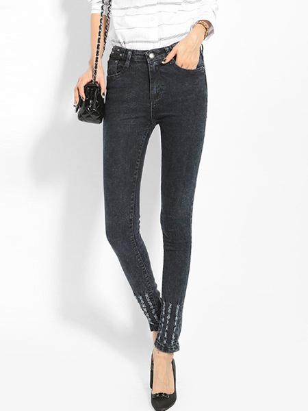 美酷思新款时尚潮流牛仔裤