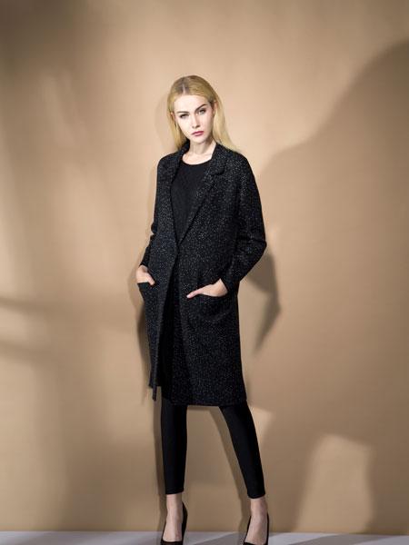 FULLTEAM时尚黑色女装新款