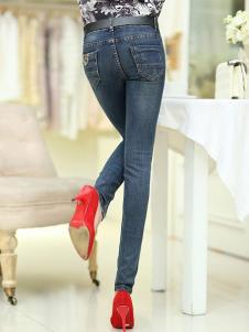 美酷思新款修身牛仔裤