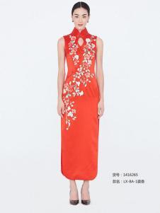 蔓樓蘭旗袍新品LX-8A-1裘香