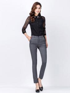 百斯盾女士修身西裤