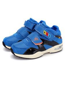 卡丁童鞋新品宝蓝色运动鞋