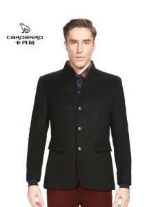 卡丹路男装立领大衣外套