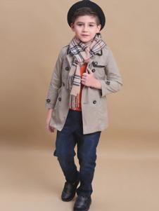 贝乐鼠童装男童风衣外套