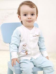 卓儿婴童装新品简约开衫套装