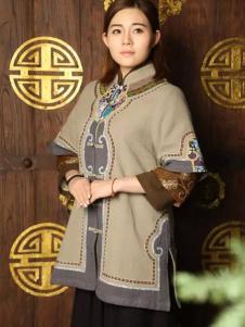 木棉道复古中国风开襟上衣