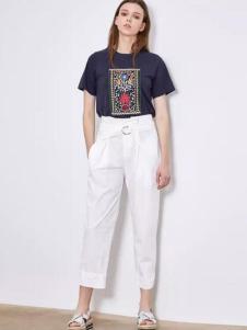 女性日记2017春夏新品T恤