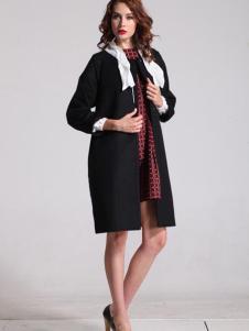 oubasil罗勒女装新品及膝大衣