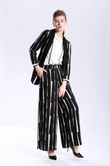 GUETES女装2017春夏新品时尚职业套装