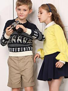 伊顿风尚童装针织衫