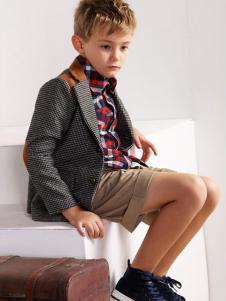 伊顿风尚童装男童西装外套