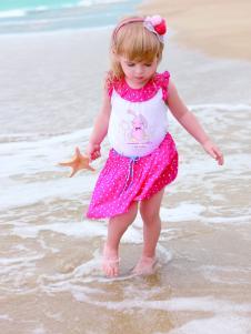 皇后婴儿夏季新款女小童连衣裙