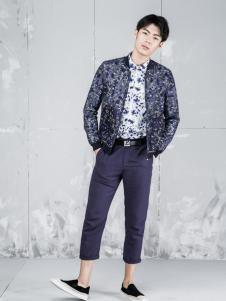 L2男装新品花色休闲夹克