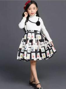 杰米杰妮女童蓬蓬裙