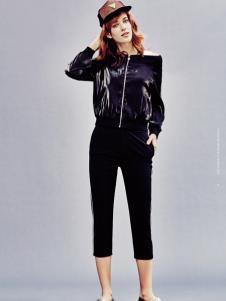兰卡芙17春季新款小外套