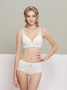 柔淇白色时尚内衣新款