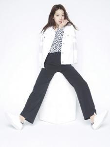 VIKI女装黑色休闲裤