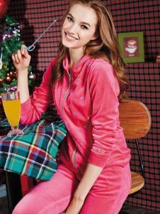 Lapagayo拉柏家雅女装新品枚红色休闲外套