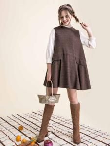 Pit女装新品无袖廓形A版裙