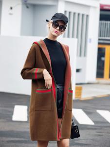 艾米秋冬时尚大衣新款