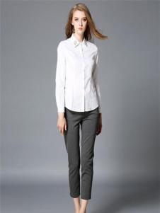 吸引力女装吸引力女装新品白色衬衫