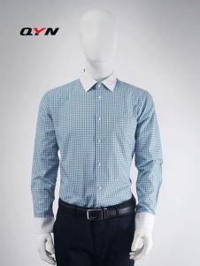 秋意浓异色领休闲衬衫纯棉RM08101064合体版