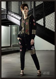 维斯提诺17年新款个性休闲套装