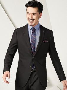 一折街男装品牌折扣新款西服