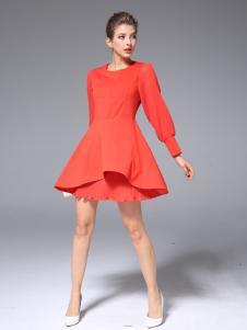 ZIMMUR2017春季新款时尚连衣裙
