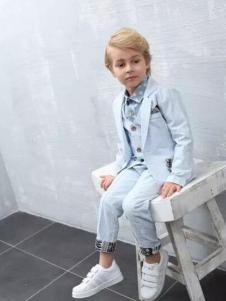 杰米杰妮男童西服套装