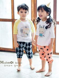 Moimoi末一末一童装卡通印花T恤