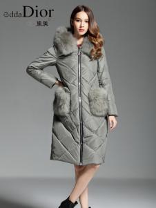 迪奥女装秋冬新款时髦羽绒服