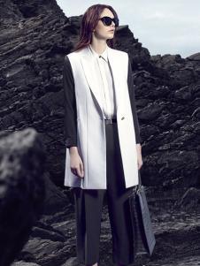 舒朗女装西装领外套