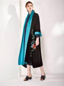 安瑞井女装ORIGIN安瑞井女装2017春装黑色长裙
