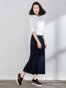 SUNMORE尚默女装新品白衬衫