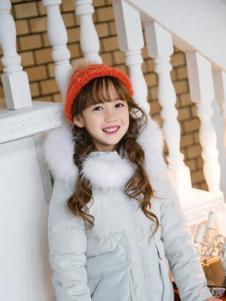红熊谷童装女童羽绒服