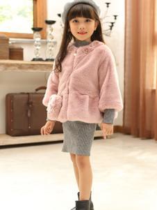 乔克叔叔童装女童时尚保暖外套