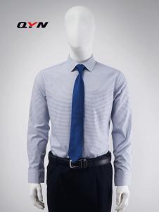 秋意浓纯棉商务格子衬衫RM08101065合体版