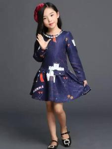杰米杰妮女童连衣裙
